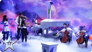 The Kanneh-Masons perform a musical medley  Semi-Final 4   Britain's Got Talent 2015