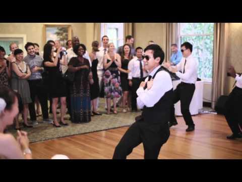 Justin Bieber 'Baby' groomsmen surprise wedding dance!