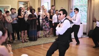 "Justin Bieber ""Baby"" groomsmen surprise wedding dance!"
