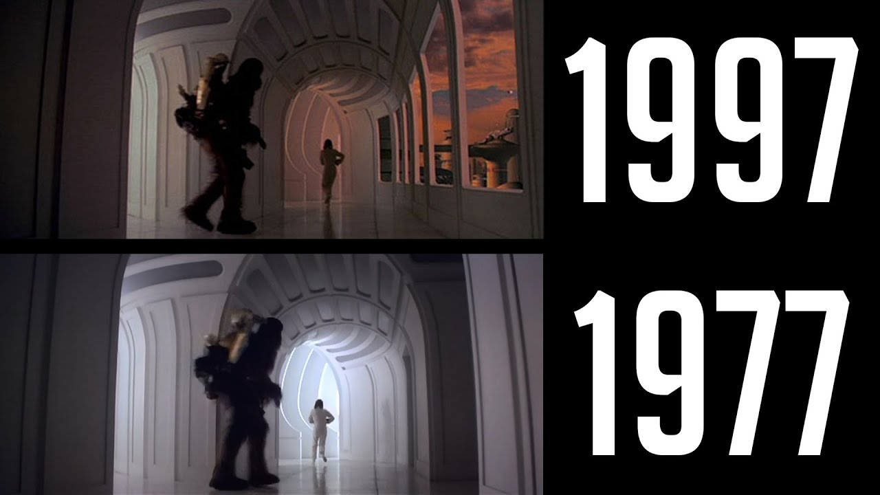 The consequences of change in george lucas a new hope