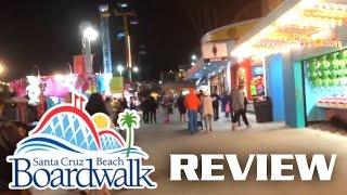 Santa Cruz Beach Boardwalk Review Seaside Amusement Park
