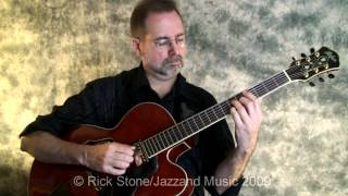 Very Early (Bill Evans) - Guitar Chord Solo by Rick Stone