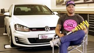 Für jeden Anspruch das richtige Fahrwerk für den VW Golf 7 GTI