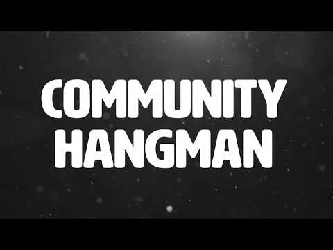 Black Door Parole - Community Hangman (Official lyric video)