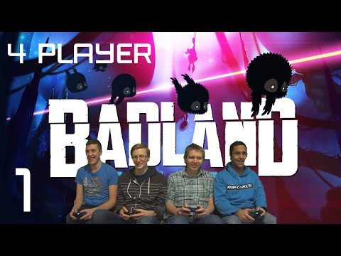 Part 1 - BADLAND 4 Player Coop - Xbox One - Struggling as a Team