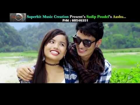 Superhit Song -Ankhako Ashu-New Adhunik Song 2016 By Sudip Poudel