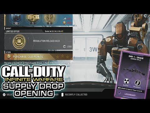 """Resolution Reload Hack"" - Infinite Warfare Supply Drop Opening"
