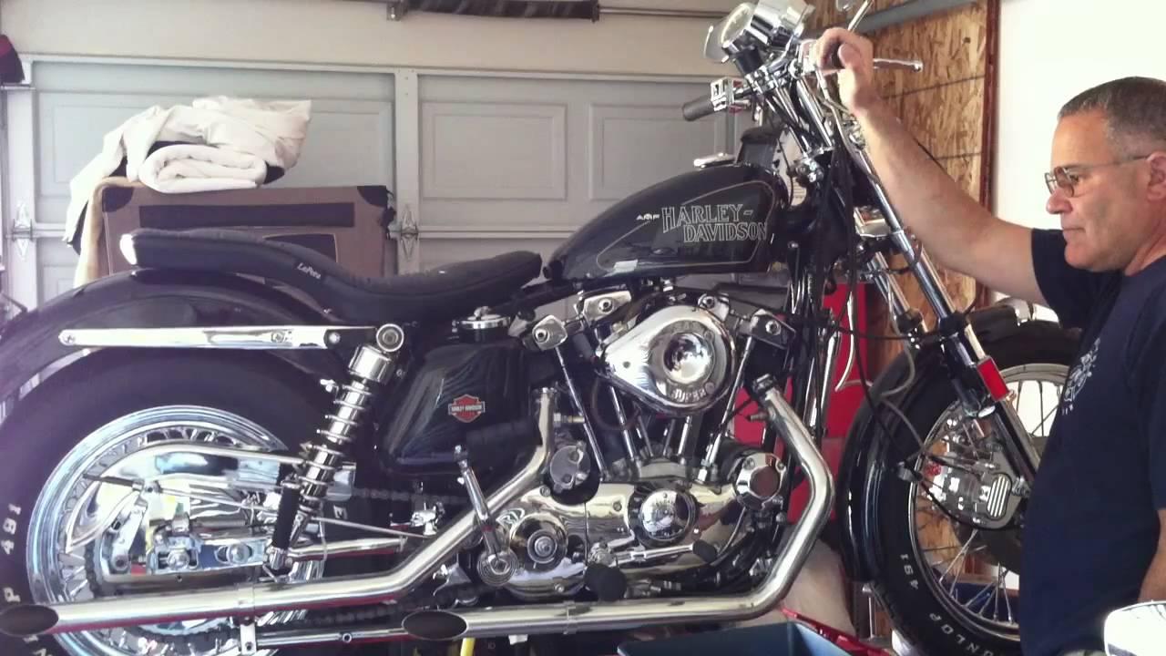1975 93ci Xlh Sportster Youtube Harley Davidson