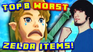 Top 8 WORST Zelda Items! - PBG (Ft. MatPat)