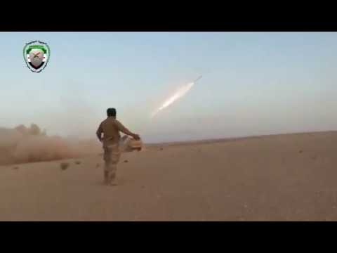 Meanwhile in the Syrian desert,the US supplied  FSA with Grad-K systems vs Assad