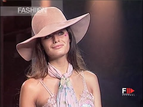 BLUMARINE Full Show Spring Summer 2002 Milan by Fashion Channel