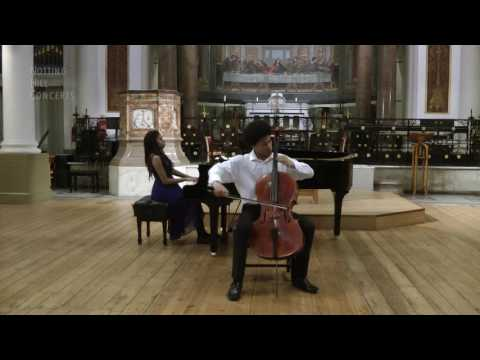Pablo Casals Song Of The Birds - Sheku Kanneh-Mason (Cello) Isata Kanneh-Mason (Piano)