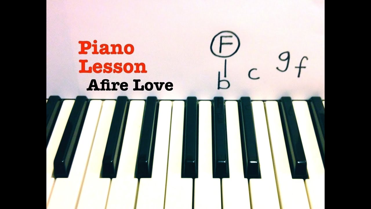 Afire love piano lesson accurate tutorial ed sheeran afire love piano lesson accurate tutorial ed sheeran youtube hexwebz Image collections
