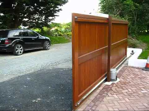 Auto Sliding Gate Youtube