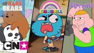 Między nami, misiami + Gumball + Clarence | Zwierzaki! | Cartoon Network
