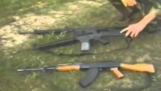 Assault Rifles- G3, M16 And AK47