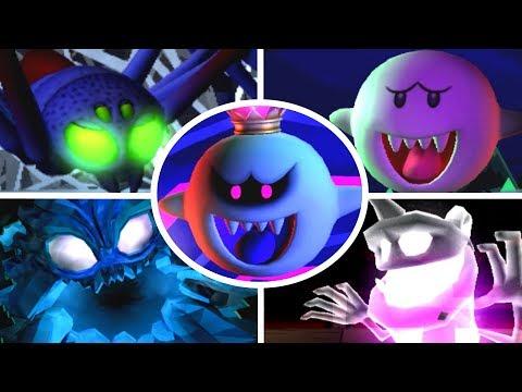 Luigi's Mansion: Dark Moon - All Bosses (3 Star Rank/No Damage)