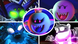 Luigi's Mansion: Dark Moon - All Bosses (3 Star Rank/No Damage)