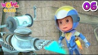 Vir: The Robot Boy | Hindi Cartoons For Kids | Action Gags - Part 6 | WowKidz Gags