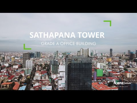 Sathapana Tower, Phnom Penh - Office Space For Lease