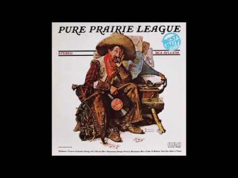 Pure Prairie League - S/T (1972) (US 80s RCA 'Best Buy' reissue vinyl) (FULL LP)