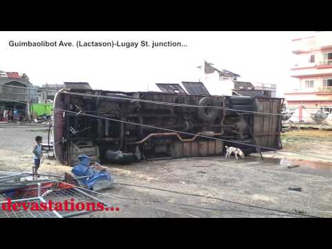 In Guiuan... Super Typhoon Yolanda (Haiyan) Remembered - Part 1 (HD)
