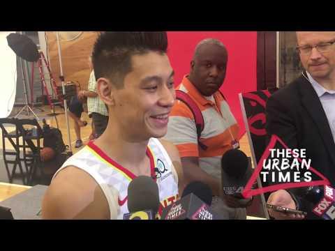 Jeremy Lin Talks New Beginnings, Injury Recovery, Touring Asia & More at Atlanta Hawks Media Day