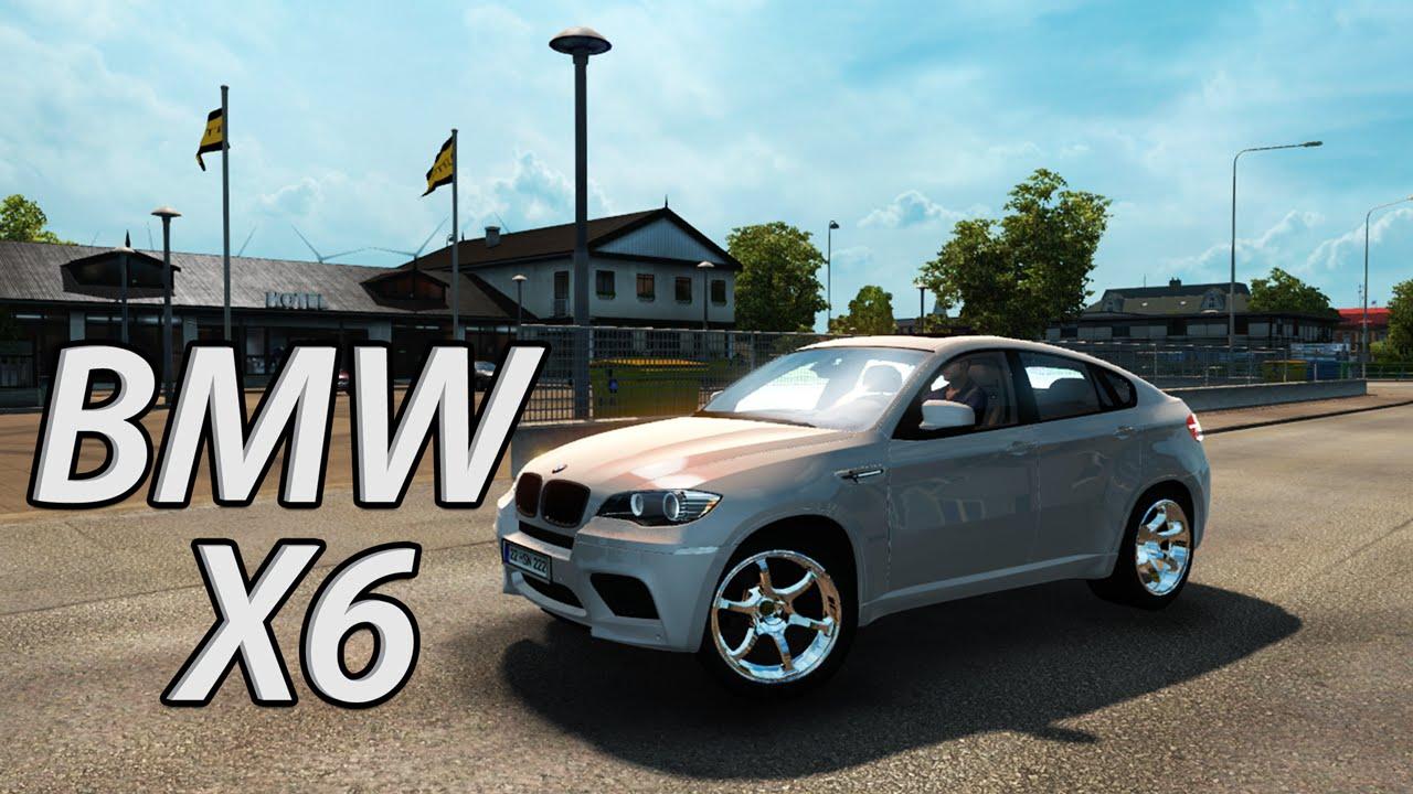 euro truck simulator 2 - bmw x6 car mod v3.4 (1.22.x) - youtube