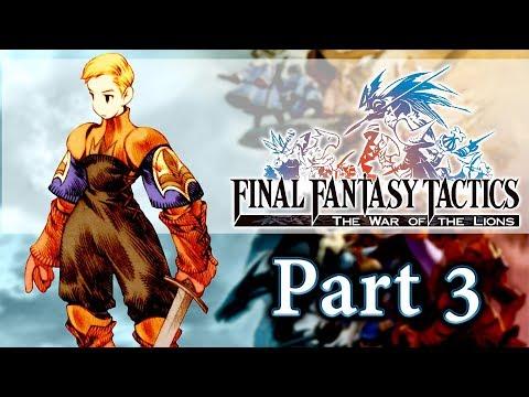 Final Fantasy Tactics: War of the Lions — Part 3   ARGATH   Gameplay Walkthrough PSP PS Vita