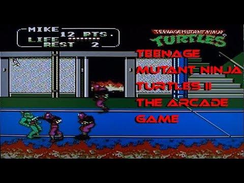 Teenage Mutant Ninja Turtles II: The Arcade Game, on the NES