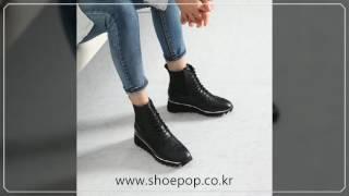 [슈팝]키높이 여성워커부츠