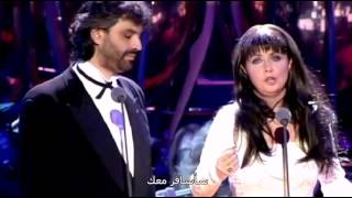 Sarah Brightman & Andrea Bocelli   Time to Say Goodbye مترجمة