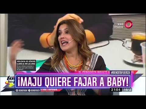 ¡Maju quiere fajar a Baby!