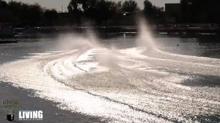 RC Boat Race - 2 CRASHES - Lake Havasu