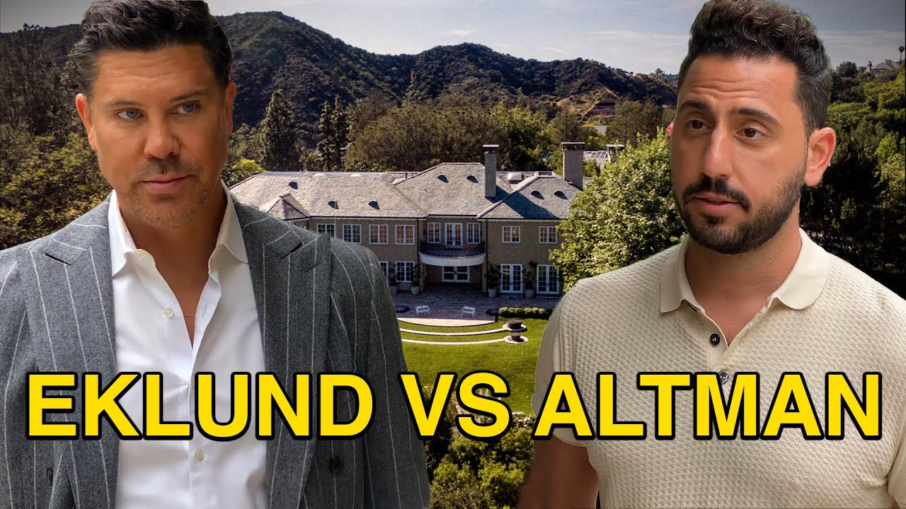 EKLUND vs ALTLMAN   JOSH ALTMAN   REAL ESTATE   EPISODE #56.5