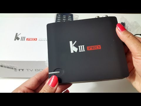 Latest 2017 MECOOL KIII Pro HYBRID TV Box | FREESAT - FREEVIEW | UNBOXING &  FIRST LOOK