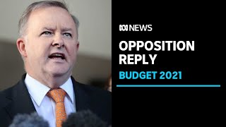 IN FULL: Opposition Leader Anthony Albanese delivers Labor's Federal Budget reply | ABC News