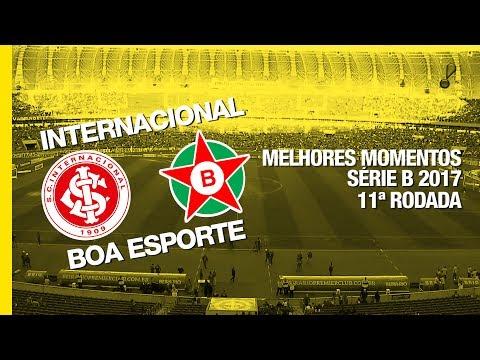 Melhores Momentos - Internacional 0 x 1 Boa Esporte - Série B - 01/07/2017