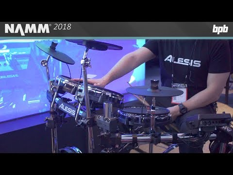 Alesis Surge Mesh Electronic Drum Kit @ NAMM 2018