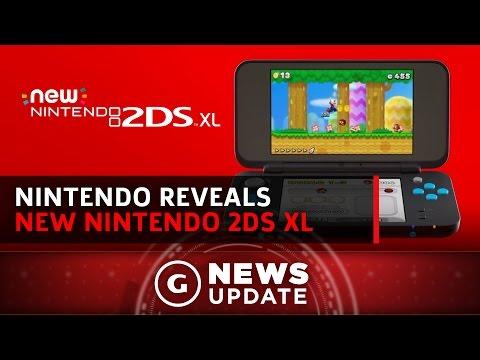 Nintendo Launching New 2DS XL Model - GS News Update