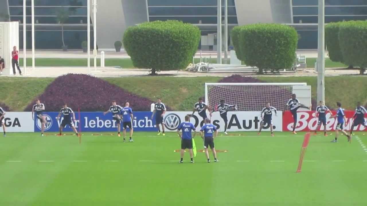 Schalke 04 Training