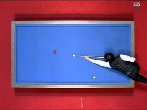Frederic Caudron World cup three cushion billiard Korea 2008