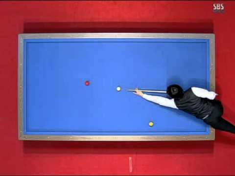 Frederic Caudron World cup three cushion billiard Korea 2008