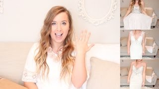 LUXE In-A-BOX! Try on wedding gowns AT HOME!