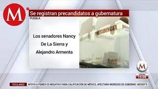 Se registran como precandidatos para la elección de Puebla