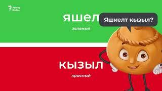 Цвета на татарском – учим татарский с нуля (татарский для начинающих)