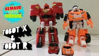 Tobot X Dan Tobot R Transformers Cars