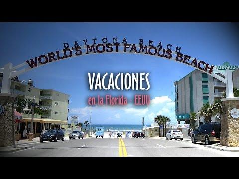 Daytona Beach - Vacaciones en la Florida  - VideoClip HD