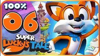 Super Lucky's Tale Walkthrough Part 6 🍀 100% 🍀 (PC, XB1) World 3 - Level 4, 5 & 6 + Boss