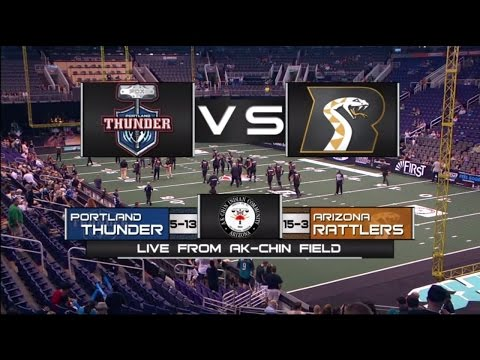 Arizona Rattlers vs Portland Thunder - Playoff Game Highlights 2014